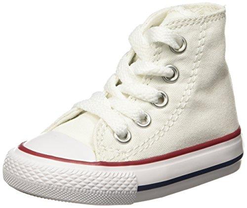 Converse Ctas Core Hi 015860-34-3 Sneaker, Unisex bambini, Optical White, 20