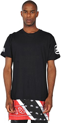pizoff-homme-t-shirt-ultra-long-avec-ourlet-zippe-fermeture-a-glissiere-paisley-y0422-m