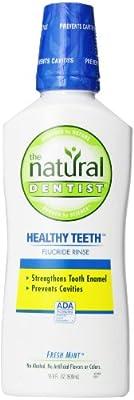 Natural Dentist Healthy Teeth? Fluoride Rinse Fresh Mint -- 16.9 fl oz
