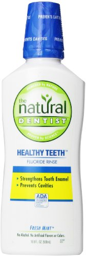 The Natural Dentist Healthy Teeth Anticavity Fluoide Rinse
