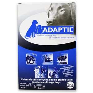 """Adaptil, D.A.P (Dog Appeasing Pheromone) Collar for Medium to Large Dogs - 27.6"""""""