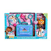 Disney Doc McStuffins Pet Vet Bag Set with BONUS Squibbles