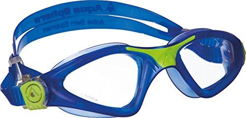 Aqua Sphere Kayenne Occhialino/Maschera Nuoto, Blu/Lime, Taglia Unica