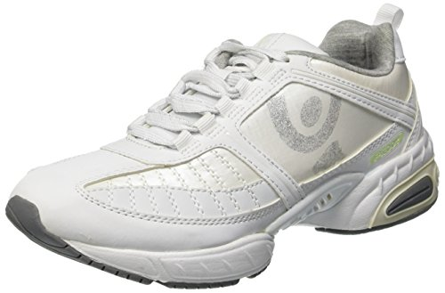 Freddy, RUNFIT01, Scarpa Fitness Low, Donna, Bianco, 5.5