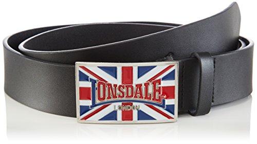 Lonsdale Gürtel Larry-Cintura Unisex - Adulto    nero 110 cm