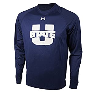 Utah State Aggies Under Armour NCAA Long Sleeve Tech T-Shirt 2XL