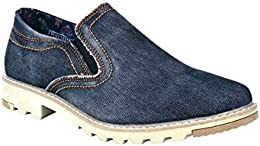 Pinellii Mens Casual Canvas Slip on B01LF2L7GM