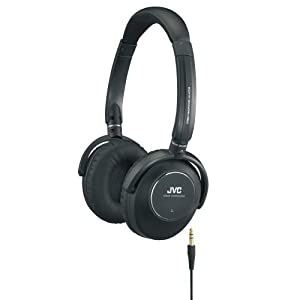 JVC HA-NC250 High Quality Noise Cancelling Headphones with Comfortable Ear Pads