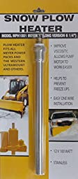 Snow Plow Heater - Keep Your Engine Running In Cold Weather - Improves Oil Viscosity