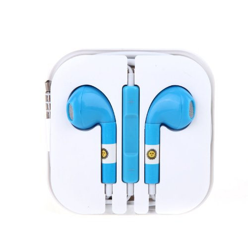 3.5Mm Sports Headphone Headset Earphone Earbuds Microphone Mic Noise Cancelling / Argentina