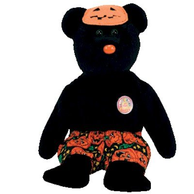 Ty Beanie Babies Scares - Bear (BBOM October 2006) - 1