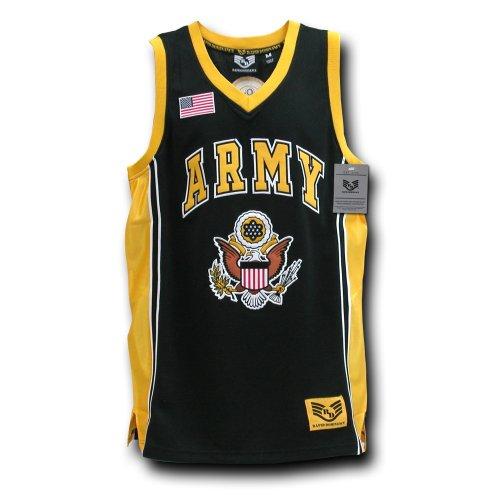Rapiddominance Army Basketball Jersey