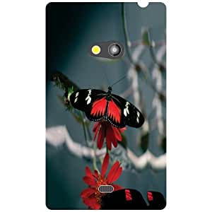 Nokia Lumia 625 Back Cover - Butterfly Designer Cases