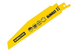 DeWalt DT2308QZ 228mm Reciprocating Blades Demolition Metal and Plastic