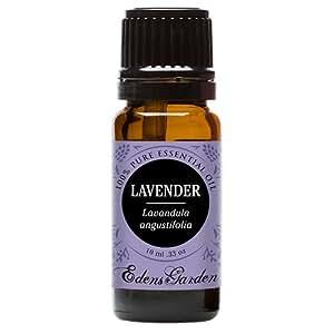 Lavender 100% Pure Therapeutic Grade Essential Oil by Edens Garden- 10 ml