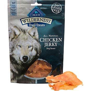 Blue Buffalo Wilderness Chicken Dog Jerky Treats