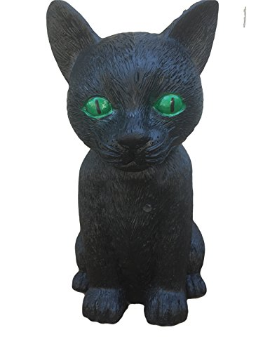 Black Cat Halloween Prop, Decoration (Halloween Cat Decorations)