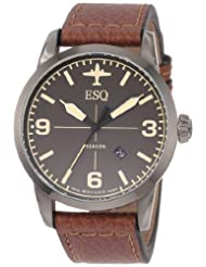ESQ by Movado Men's 07301391 Beacon Leather Band Watch
