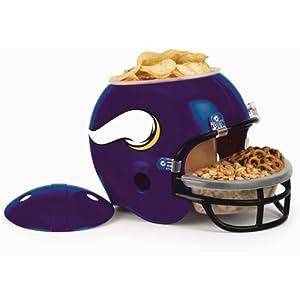 NFL Minnesota Vikings Snack Helmet by WINAV