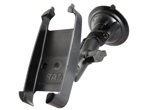 Ram Mount Twist Lock Suction Cup Mount for Specific Lowrance