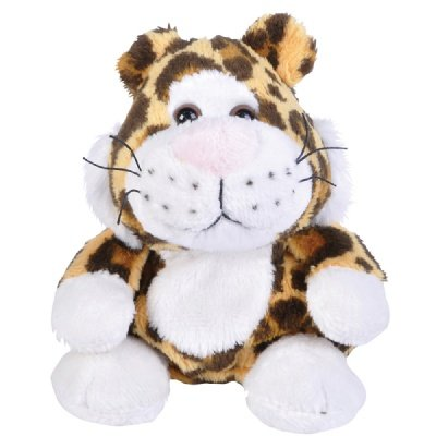 Leopard Beanie Bean Filled Plush Stuffed Animal - 1