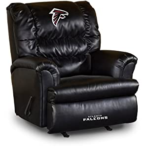 NFL Atlanta Falcons Big Daddy Leather Recliner by Imperial