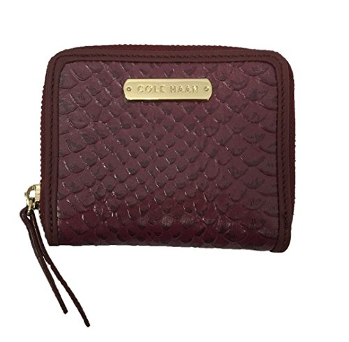 Cole Haan Women's Carrington Mini Wallet Pink Red Windsor Authentic New with Tag (Cole Haan New compare prices)