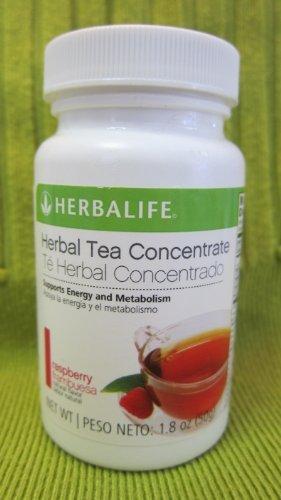 Herbalife Herbal Tea Concentrate - Raspberry Flavor 1.8 Oz