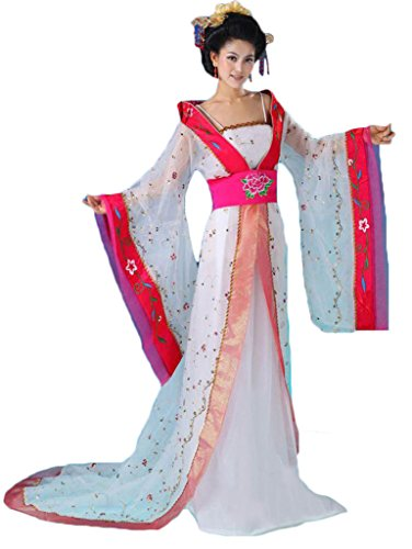 Chinese Ancient Stage Costumes Queen Women's&Girls Dress Halloween Cosplay HanFu