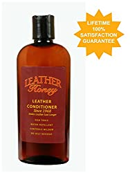 Leather Honey Leather Conditioner, the Best Leather Conditioner Since 1968, 8 Oz Bottle. For Use on Leather Apparel, Furniture, Auto Interiors, Shoes, Bags and Accessories. Non-Toxic and Made in the USA!