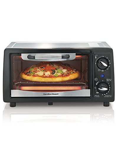 Hamilton Beach 31134 4 Slice Capacity Toaster Oven, Black (Toaster Ovens Best Rated Compact compare prices)