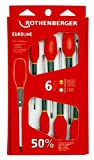 Rothenberger 6 piece Euroline Screwdriver Set (PZ) - 6pc