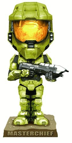Picture of Funko Halo 3 Green Spartan Bobble Head Figure (B001GTIVJG) (Halo Action Figures)