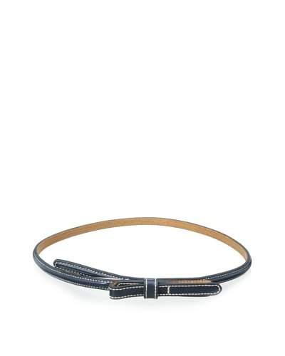 Tommy Hilfiger Women's Skinny Leather Bow Belt