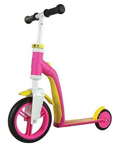 Schylling Scoot & Ride Highway Ride On, Baby Pink/Yellow by Schylling