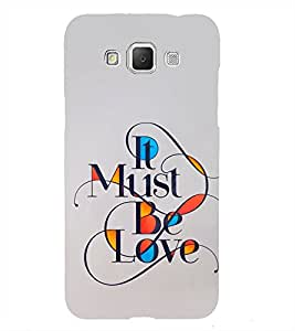 When you are in love 3D Hard Polycarbonate Designer Back Case Cover for Samsung Galaxy Grand Max