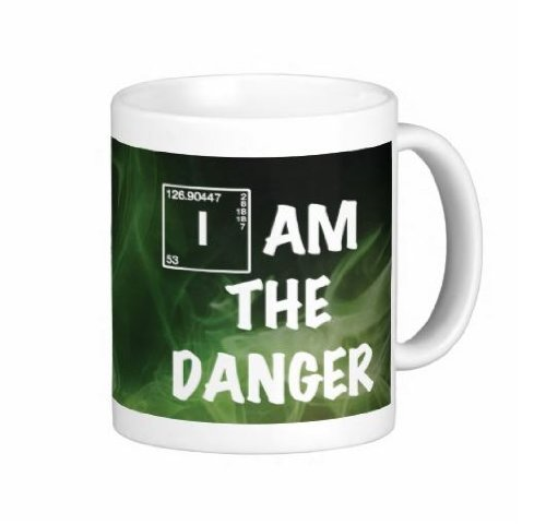 0056* 15Oz I Am The Danger Mug - Dishwasher And Microwave Safe