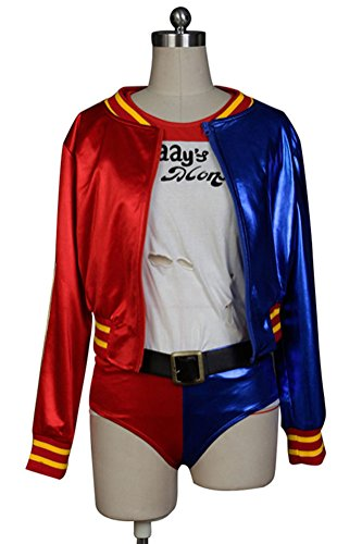 Moneykitty DC Comics Suicide Squad Harley Quinn Cosplay Costume