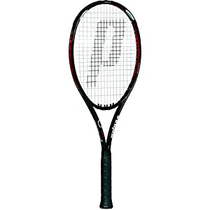 Prince O3 Red MP+ Prestrung Tennis Racquet