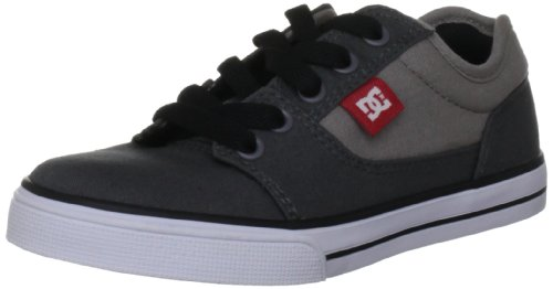 Dc Shoes Bristol Cnvas Grey/White Fashion Sports Skate Shoe D0303324B 13 UK Junior, 1 US