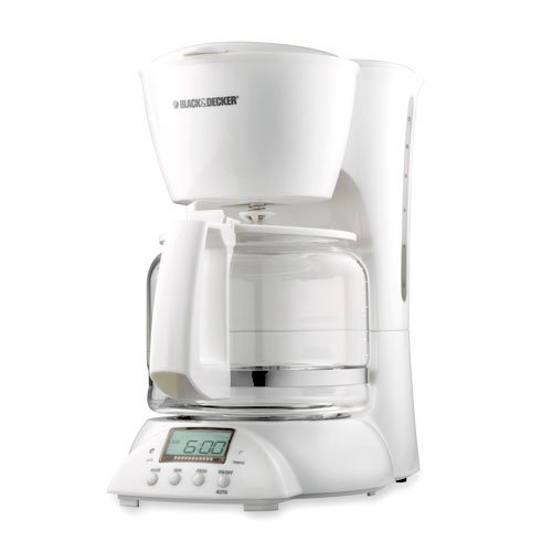 Black And Decker Spacemaker Coffee Maker White : Spacemaker Coffee Pot: Black & Decker DCM2900 SmartBrew 12 Cup Digital Coffee Maker