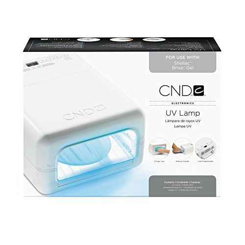 CND Shellac Light Official UV Lamp - (Use with CND Shellac Color Coat Gel Nail Polish)