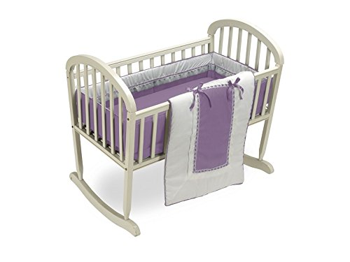 Baby Doll Royal Cradle Bedding Set, Lavender