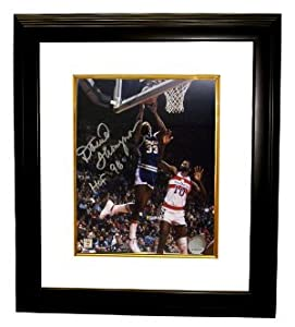 David Thompson signed Denver Nuggets NBA 8x10 Photo HOF 96 Custom Framed by Athlon+Sports+Collectibles