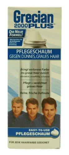 2000Plus Cura Schiuma Grecian contro grigio capelli, 150ml