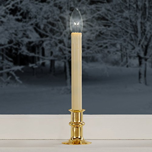 Adjustable-Height Cordless Led Window Candles W/ Streetside Brightness