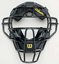 10quot Dyna-Lite Umpire Face Mask with Synthetic Padding from Wilson