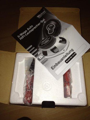 3-Wege Auto HiFi-Lautsprecher-Set