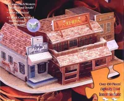 Picture of TeleBrands Saloon 3-D Puzzle 3D (B001GUK1JS) (3D Puzzles)