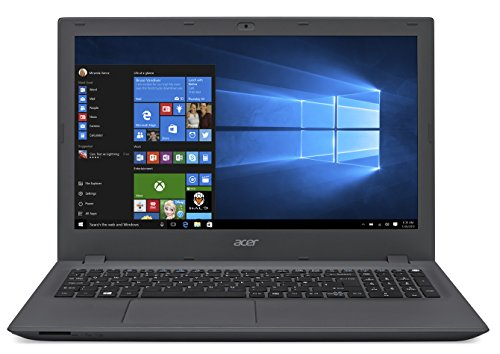 "Acer Aspire E5-573-56E5 Portatile, Display da 15.6"", Processore Intel Core i5-4210U, RAM 4GB, HDD da 500GB, Scheda Grafica Intel HD Graphics, Grigio"